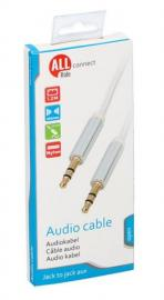 Connect Audio kabel jack-jack 3,5 mm, 120 cm